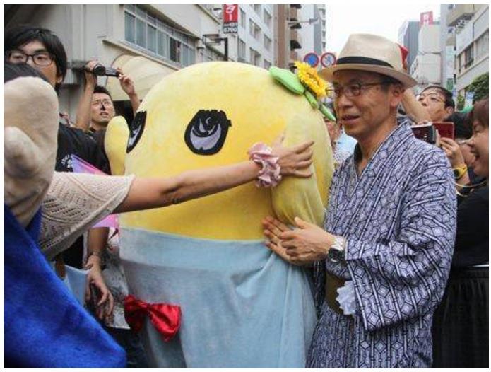 船橋市長とふなっしー