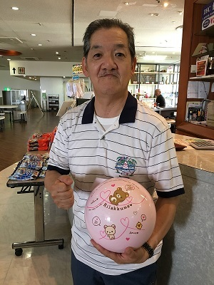 優勝の小川明宏選手