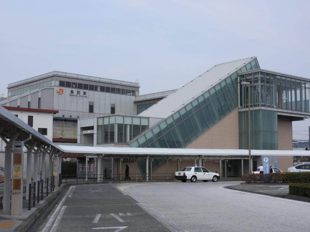 東海道本線島田駅南口