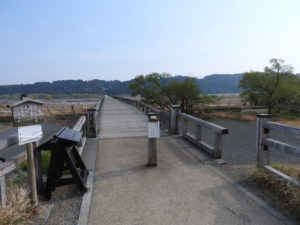 蓬莱橋入口