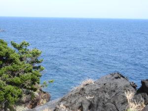 城ケ崎ピクニカルコース岩と海