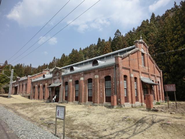 アプトの道・旧丸山変電所