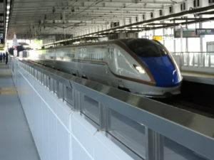 北陸新幹線飯山駅
