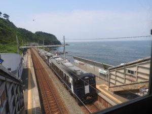 青海川駅と越乃Shu*Kura