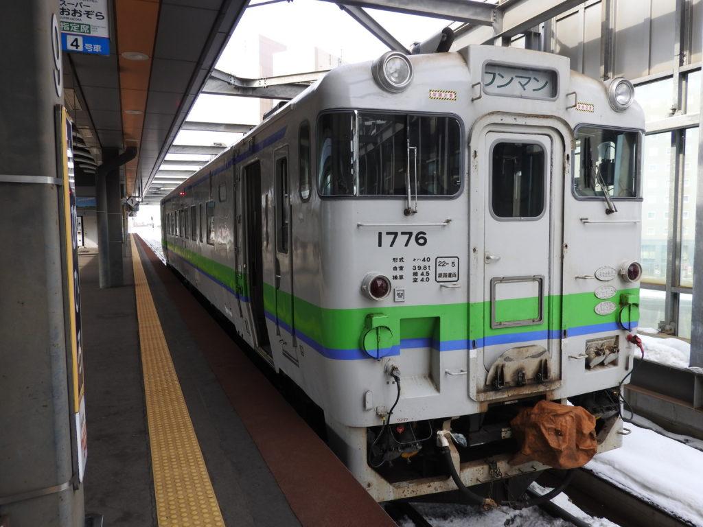 帯広駅停車中のキハ40