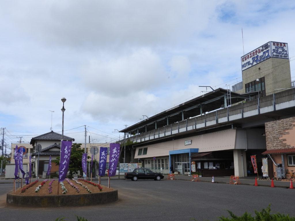 JR鹿島線・潮来駅