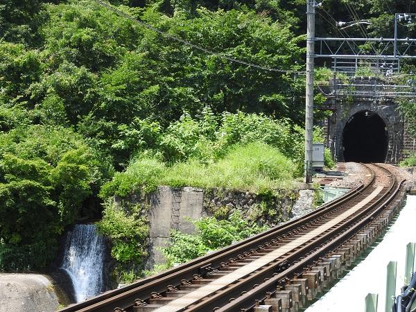 土合駅から谷川岳ロープウェイ乗り場まで
