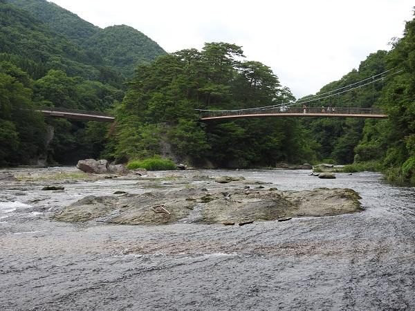 吹割の滝の架け橋