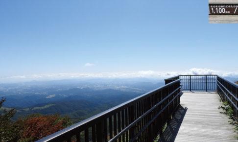 小丸山展望台への遊歩道P地点