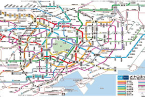 東京メトロ路線図