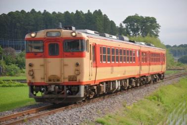 水郡線キハ47系車両