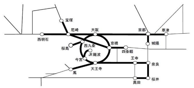 京阪神地区大晦日終夜運転2018